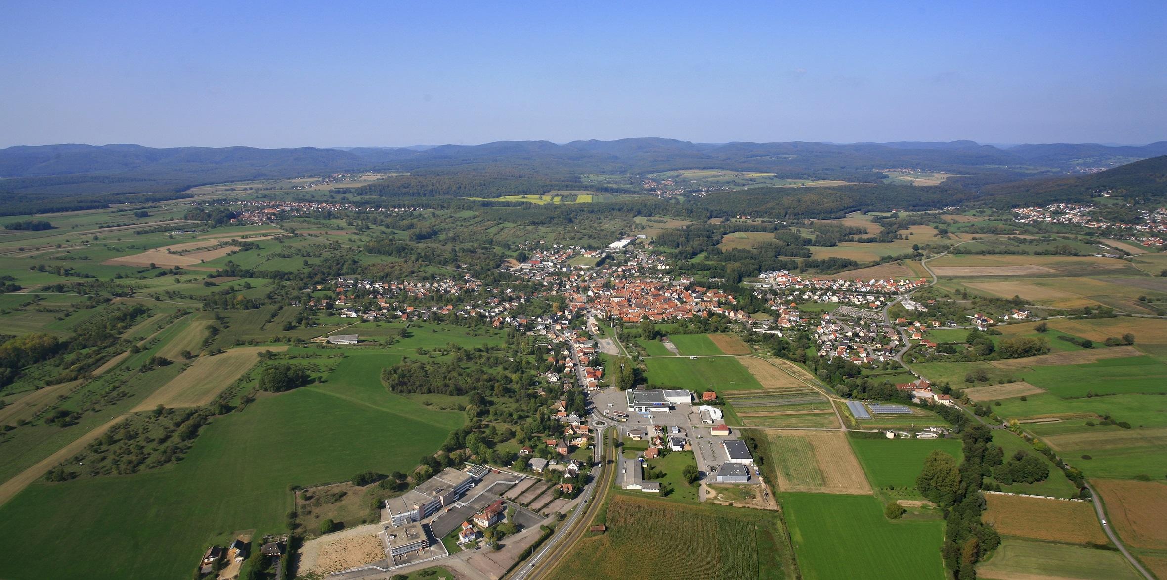 La zone d 39 activit s sud woerth communaut de commune for Zone commune