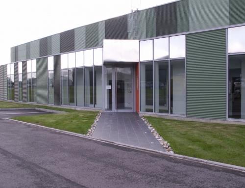 L'hôtel d'entreprises de la Sauer à Eschbach