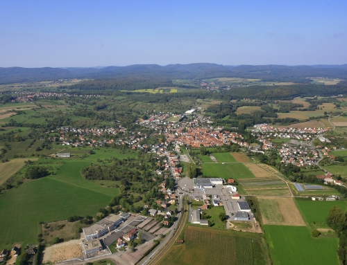 La zone d'activités Sud à Woerth