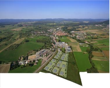 Zone d 39 activit s sud woerth commercialisation for Zone commune