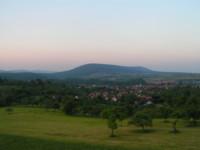 Vue depuis les hauteurs de Woerth